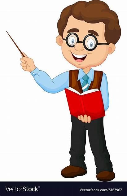 Teacher Clipart Cartoon Male Teachers Animados Imagenes