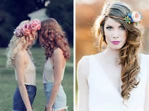 couronne de fleurs mariage quelle coiffure pour votre mariage les marieuses