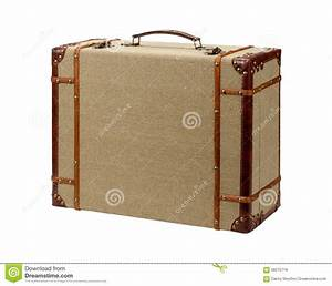 Valise En Bois : valise en bois de toile de jute de deco avec le chemin de coupure photo stock image 58275716 ~ Teatrodelosmanantiales.com Idées de Décoration