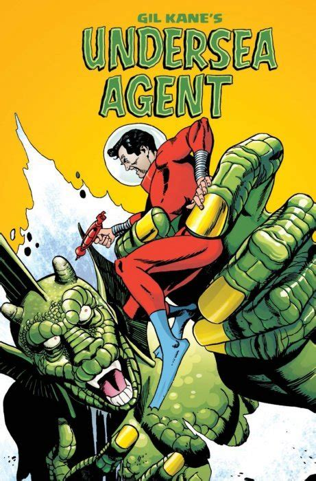 Gil Kane's Undersea Agent Hard Cover 1 (IDW Publishing ...