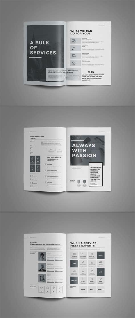 proposal  portfolio templateminimal  professional