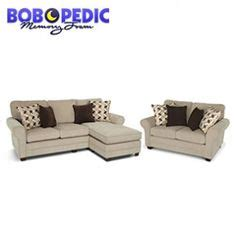 Keenum Taupe Sofa With Reversible Chaise  Big Lots Next