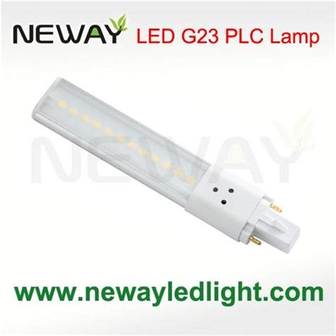 g23 2pin in 5w led plc l bulb g23 5w led plc l
