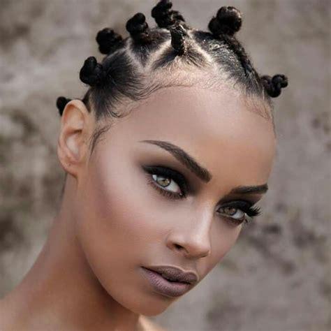 hair style picks 25 best ideas about bantu knots on bantu knot 7655