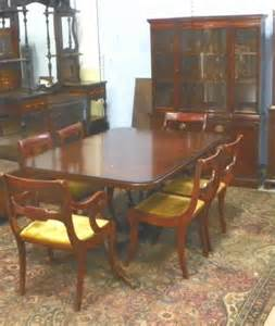 mahogany dining room set 2132 drexel mahogany dining room set ca 1930 39 s lot 2132