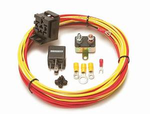 Painless Wiring 50102 Universal 30 Amp Fuel Pump Relay  U0026 Harness Kit