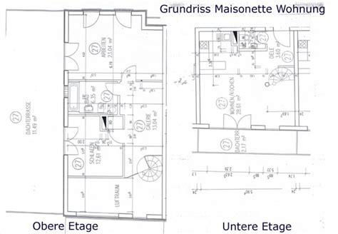 Der Grundriss Und Was Dabei Beachtet Werden Sollte by Maisonette Wohnung