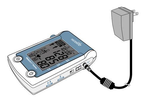 WatchBP Home Mains Power Adaptor (Alternative to Batteries