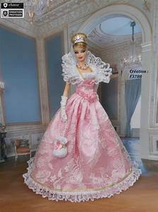 robe barbie quot theodora quot vetement pour poupee barbie With patron robe poupee barbie