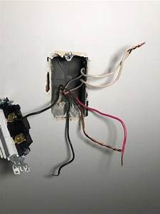 Switch With 2 Black  2 White  2 Ground And 1 Red Wire
