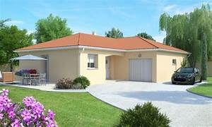 Maison Plain Pied En L : maison plain pied 3 4 chambres construction maison ~ Melissatoandfro.com Idées de Décoration