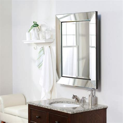 how to frame a medicine cabinet mirror beveled mirror frame medicine cabinet bathrooms pinterest
