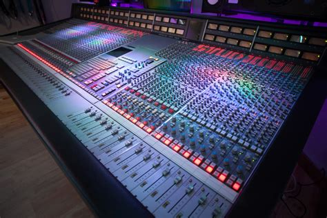 home studio mixing desk ssl 4000g mixing console now at alive network recording