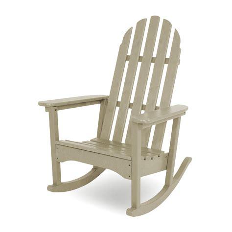 polywood adirondack chairs polywood 174 classic adirondack rocker adrc 1