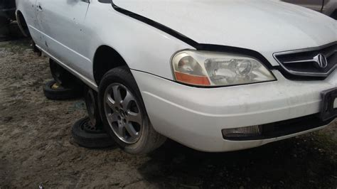 01 02 03 acura cl front bumper cover factory oem does not apply acura