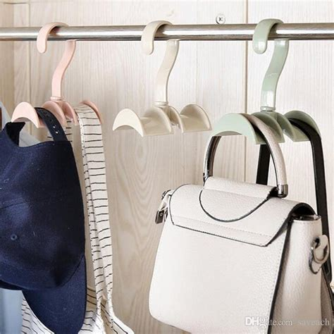 Closet Hooks For Purses by Hanging Closet Organizer Hooks Hanger Holder For Purses