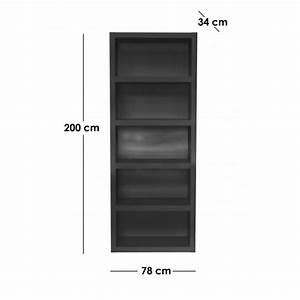 Bibliothèque Noire Ikea : etagere noire ~ Teatrodelosmanantiales.com Idées de Décoration