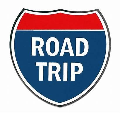 Trip Road Clipart Clip Sign Roadtrip Come