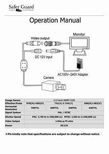Sony 420tvl Wiring Diagram