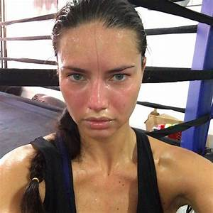 9 Pictures of Adriana Lima Without Makeup  Styles At Life