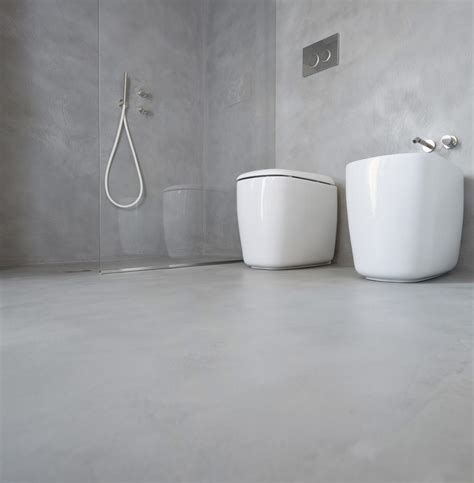 bagni con piastrelle rivestimento bagno moderno con microtopping