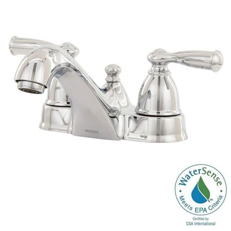 moen banbury 2 handle bathroom faucet in chrome finish