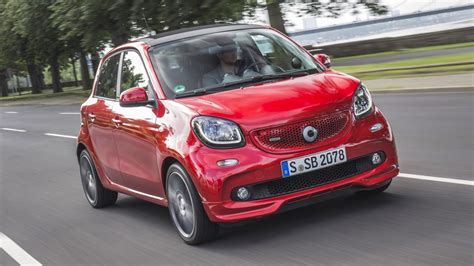 Review The New Smart Forfour Brabus  Top Gear