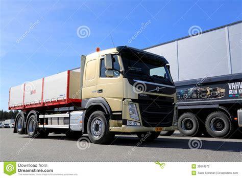 volvo truck range volvo fm11 hookpro construction truck editorial