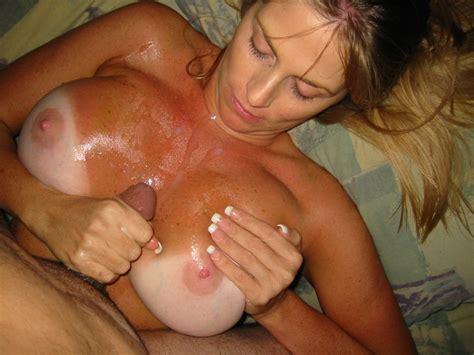 My Cum Glazed Tits Gallery
