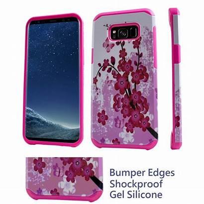 Phone Case Shockproof G950 S8 Scratch Sakura