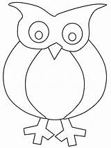 Owl Coloring Cartoon Cliparts Owls Colouring Sheets Printable Activity Winter sketch template