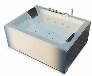 Baignoire 2 Places Balneo : baignoire baln o spa blanche 2 places 40 jets ~ Edinachiropracticcenter.com Idées de Décoration