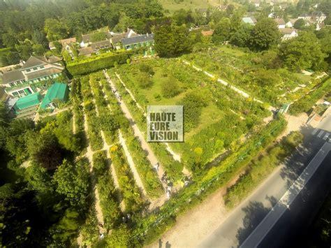 jardin de claude monet giverny eure france dronestagram
