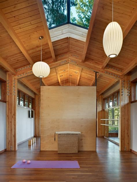 tranquil yoga room designs   motivate