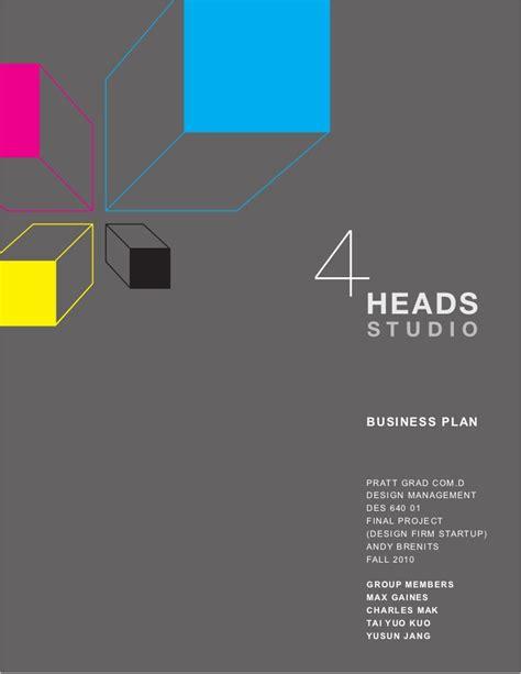 heads studio business plan