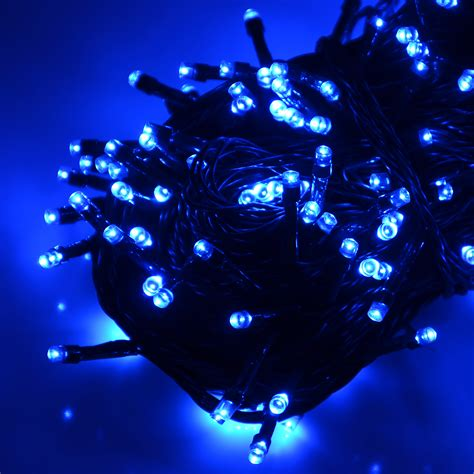 battery operated chasing led lights string with timer indoor outdoor christmas ebay