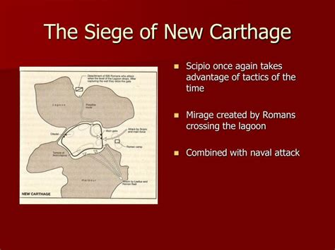 the siege of carthage ppt strategy and tactics powerpoint