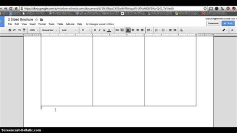 google docs brochure template beepmunk
