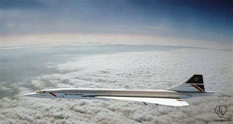 The only picture of the Concorde flying at Mach 2 ...