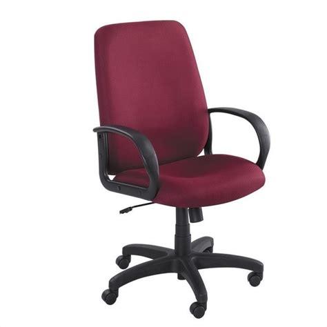 burgundy executive high back office chair 6300bg
