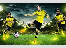 Borussia Dortmund 201516 PUMA Home, Away and Third Kits