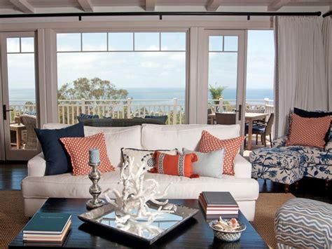 coastal livingroom coastal living room ideas living room and dining room decorating ideas and design hgtv