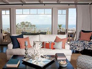 coastal living room ideas living room and dining room With coastal decorating ideas living room