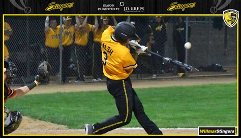 stingers beat undefeated larks willmar stingers