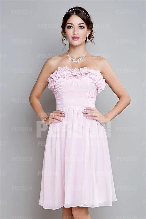 robe pour mariage chetre robe pastel courte pour mariage en mousseline persun fr