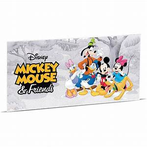 Wmf Kinderbesteck Mickey Mouse Friends : mickey mouse friends 5g pure silver coin note nz mint ~ Bigdaddyawards.com Haus und Dekorationen