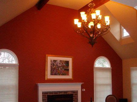 pictures of rooms with two different colors painted