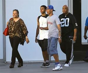 Diggy Simmons in Joseph Simmons and His Family Out in ...