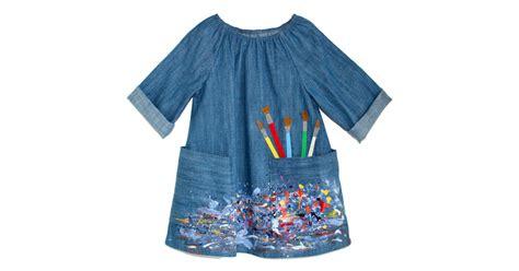 lindsey berns denim artist smock dress fall dresses
