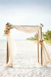 100 beautiful wedding arches canopies simple beach With simple beach wedding ideas